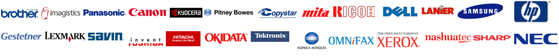Copier Lease Supported Brands